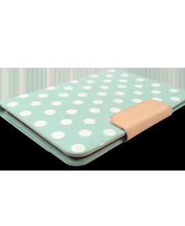 PureGear Universal 10 Inch Tablet Folio - Mint Dots