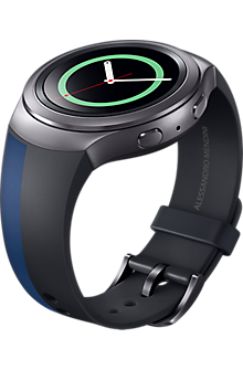 Band for Samsung Gear S2 - Mendini Navy