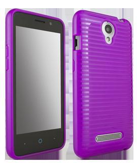 ZTE Obsidian Flex Protective Cover - Purple