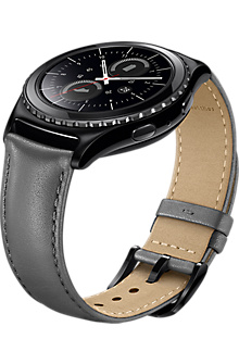 Band for Samsung Gear S2 Classic - Gray