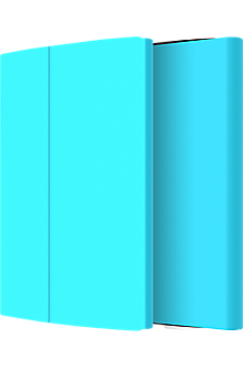 Faraday Folio Case for LG G Pad X8.3 - Blue