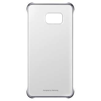 Samsung Galaxy S6 edge plus Protective Cover - Clear & Silver