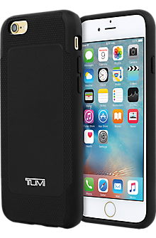 Full Grain Leather Co-Mold Case for iPhone 6/6s - Black