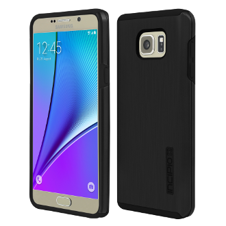 Samsung Galaxy Note5 Incipio DualPro Shine Case - Black