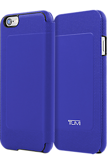 Full Grain Leather Folio for iPhone 6/6s - Atlantic Blue
