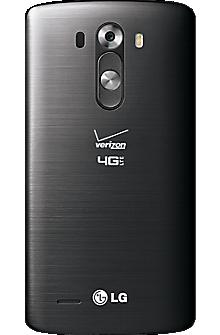 Standard Battery Cover for LG G3 - Black