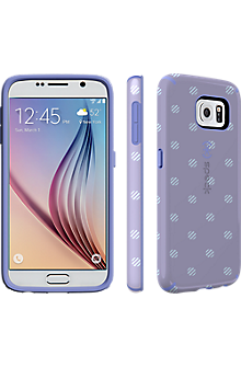 Speck CandyShell INKED for Samsung Galaxy S 6 - Stripe Polka Heather/Wisteria Purple