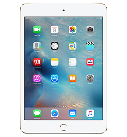 iPad mini 4 - Gold - 16GB