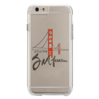 iPhone 6/6s Plus Case-Mate Naked Tough Case - Golden Gate