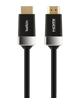 Belkin 10-foot HDMI Cable - Black