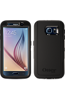 OtterBox Defender Series for Samsung Galaxy S 6 - Black