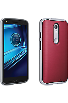 Soft Cover with Bumper for DROID Turbo 2 - Marsala