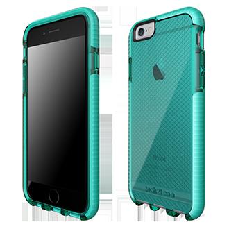 Apple iPhone 6/6s Tech21 Evo Check Case - Aqua & White