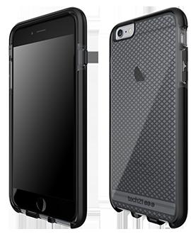 Apple iPhone 6/6s Plus Tech21 Evo Check Case - Smoke & Black