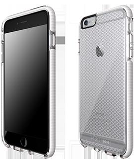 Apple iPhone 6/6s Plus Tech21 Evo Check Case - Clear & White