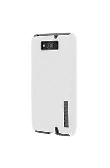 DualPro Case for DROID MAXX - White with Gray
