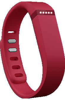 Fitbit Flex Wireless Activity + Sleep Wristband - Red