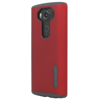 LG V10 Incipio DualPro Case - Red and Charcoal