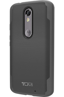 Coated Canvas Co-Mold Case for DROID Turbo 2 - Gray