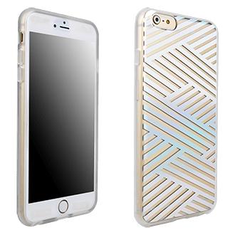 iPhone 6/6s Plus Sonix Case - Criss Cross Rainbow
