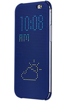 HTC Dot View for The all new HTC One - Blue