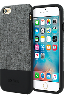 Color-Block Case for iPhone 6/6s - Tech Oxford Gray/Black