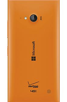 Wireless Charging Battery Door for Microsoft Lumia 735 - Orange