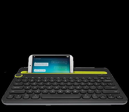 Bluetooth Multi-Device Keyboard K480