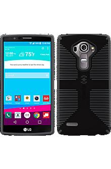Speck CandyShell Grip for LG G4 - Black/Slate Grey