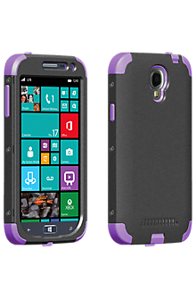 Rugged Case for Samsung ATIV SE - Purple