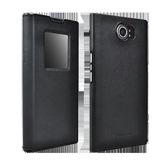 BlackBerry Priv Smart Flip Case - Black