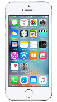 Apple iPhone 5s - Silver 64GB