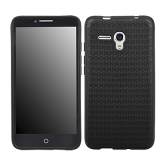 Alcatel OneTouch Fierce XL Flex Protective Cover - Black