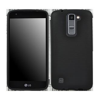 LG K7 Flex Protective Cover - Black