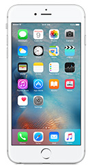 Apple iPhone 6s Plus - Silver 16GB