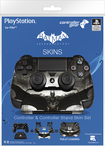 Controller Gear - Batman: Arkham Knight Controller And Controller Stand Skin Set For Playstation 4 - Multi