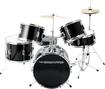 Drumfire - 5-piece Drum Set - Gloss Black