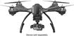Yuneec - Typhoon G Quadcopter Rtf Drone - Black