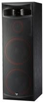 """Cerwin Vega - Dual 15"""" 3-way Floorstanding Loudspeaker (each) - Black"""
