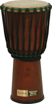 "Tycoon Percussion - Dancing Drum Series 9"" Djembe - Brown"