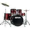 Ddrum - 5-piece Drum Set - Blood Red
