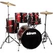 Ddrum - D120b Series 5-piece Drum Set - Blood Red