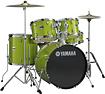 Yamaha - Gigmaker 5-piece Drum Set - White Grape Glitter