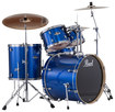Pearl Drums - Export Series 5-piece Drum Set - Electric Blue Sparkle