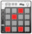 Ik Multimedia - Irig Pads Midi Groove Controller - Black/gray