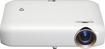 Lg - Minibeam Pw1500 720p Dlp Projector - Brown