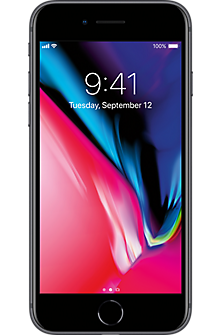 Apple® iPhone® 8 256GB in Space Gray