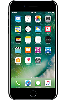 Apple® iPhone® 7 Plus 128GB in Jet Black