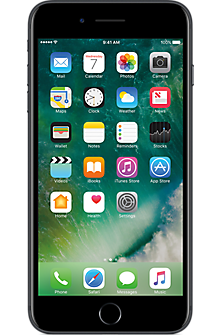 Apple® iPhone® 7 Plus 128GB in Black