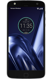 Moto Z Play Droid in Black/Silver/Black Slate